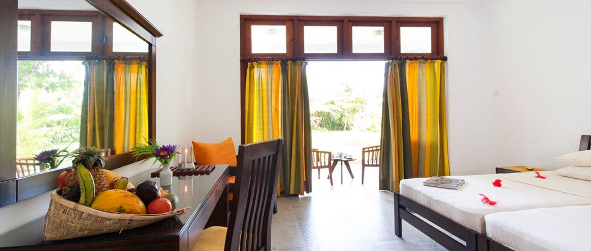 Neue Zimmer im Surya Lanka Ayurveda Hotel