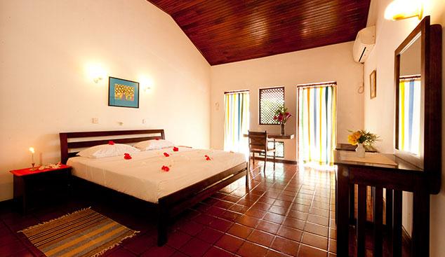 elegante Zimmer in der Ayurveda hotel in Sri Lanka