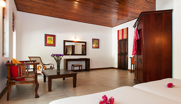 renovierte Zimmer in der Ayurveda hotel in Sri Lanka