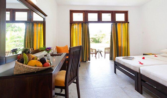 Zimmer im Surya Lanka Ayurveda Resort in Sri Lanka