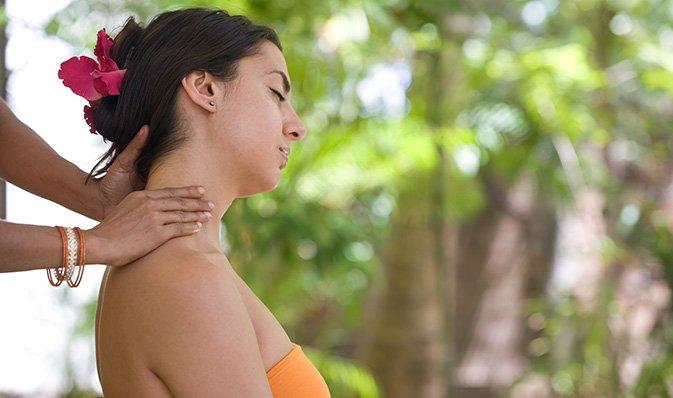 Ayurvedische Massagen in Ayurveda Hotel