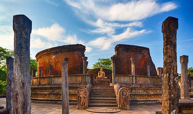 Ruinen Pollonnaruwa's