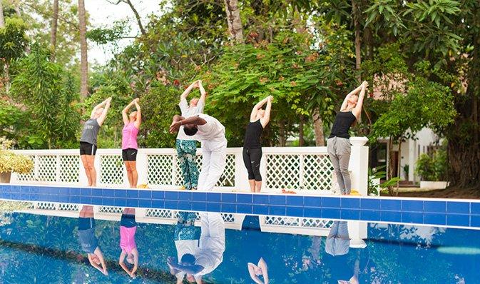 Ayurveda und Yoga bei Surya Lanka Ayurveda Resort, Sri Lanka