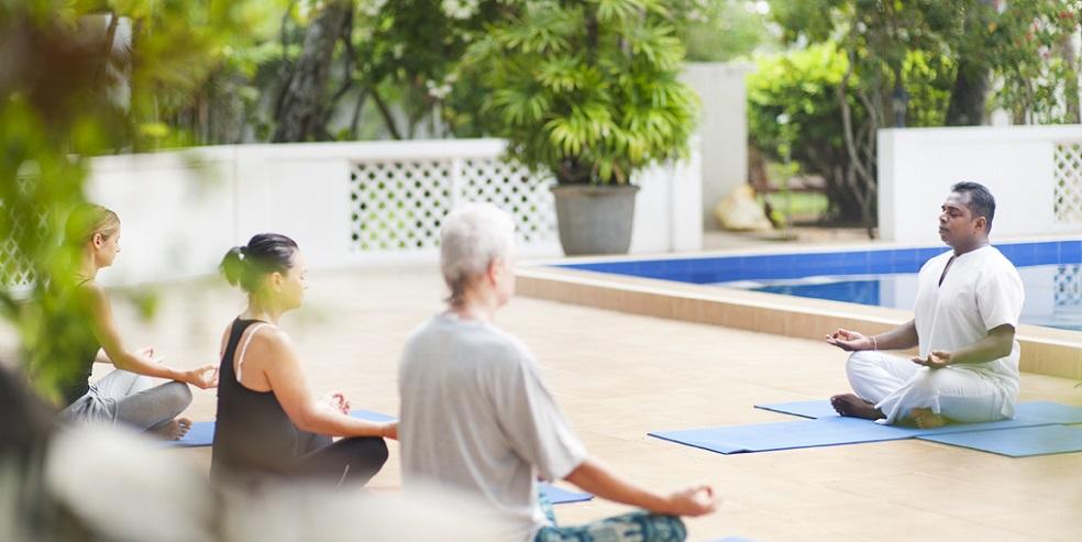yoga bei Surya Lanka in Sri Lanka